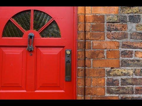 Red Main Doors in Feng Shui