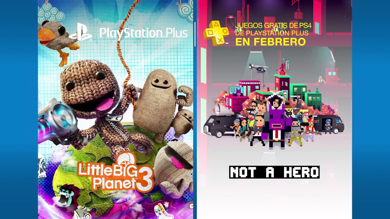 PS Plus: Juegos gratis para febrero de 2017