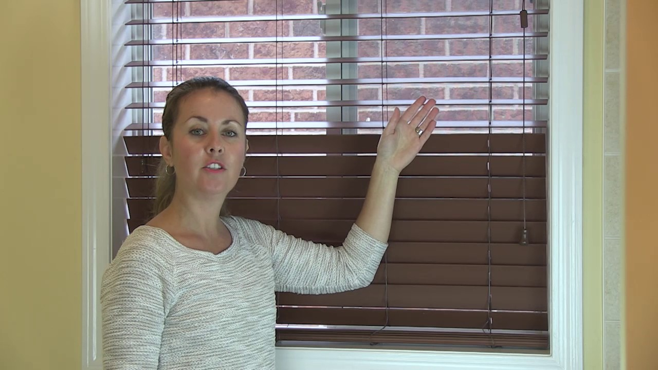 Expert Tip for Faux Wood Blinds