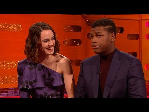 John Boyega and Daisy Ridley on Star Wars secrecy - The Graham Norton Show: Series 18 - BBC