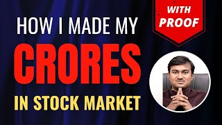 How I earn crores from the stock market (Proof & Lessons)- How to make crores in share market?