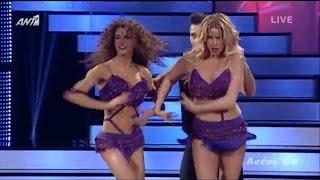 Κατερίνα Στικούδη & Ειρήνη Παπαδοπούλου στο Dancing With The Stars.