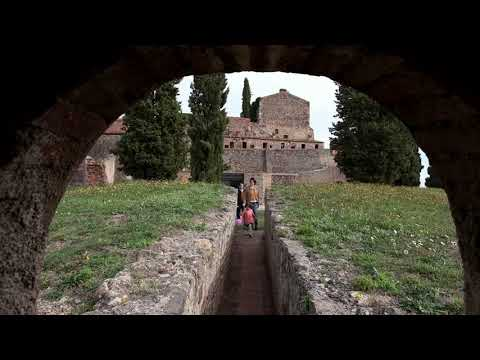 Castillo de Hostalric, la historia de una fortaleza