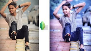 Snapseed Best Color Correction Effect Editing | Normal Photo In To Stylish Photo Snapseed Editing