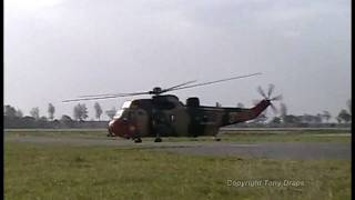 preview picture of video 'Scramble rolling take-off Seaking Mk.48 Airbase Koksijde'