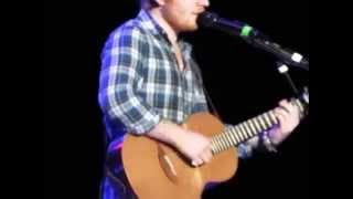 Ed Sheeran New Song Amsterdam/Sweet Mary Jane 5/29/2015 - FRONT ROW