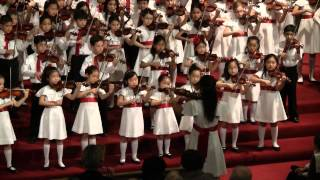 Betty Haag Academy Christmas Concert 2013 Sound of Music and Edelweiss