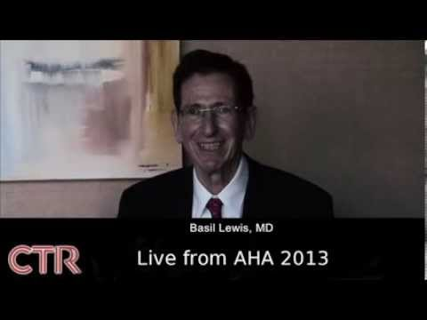 Live from AHA 2013 | Basil Lewis MD.