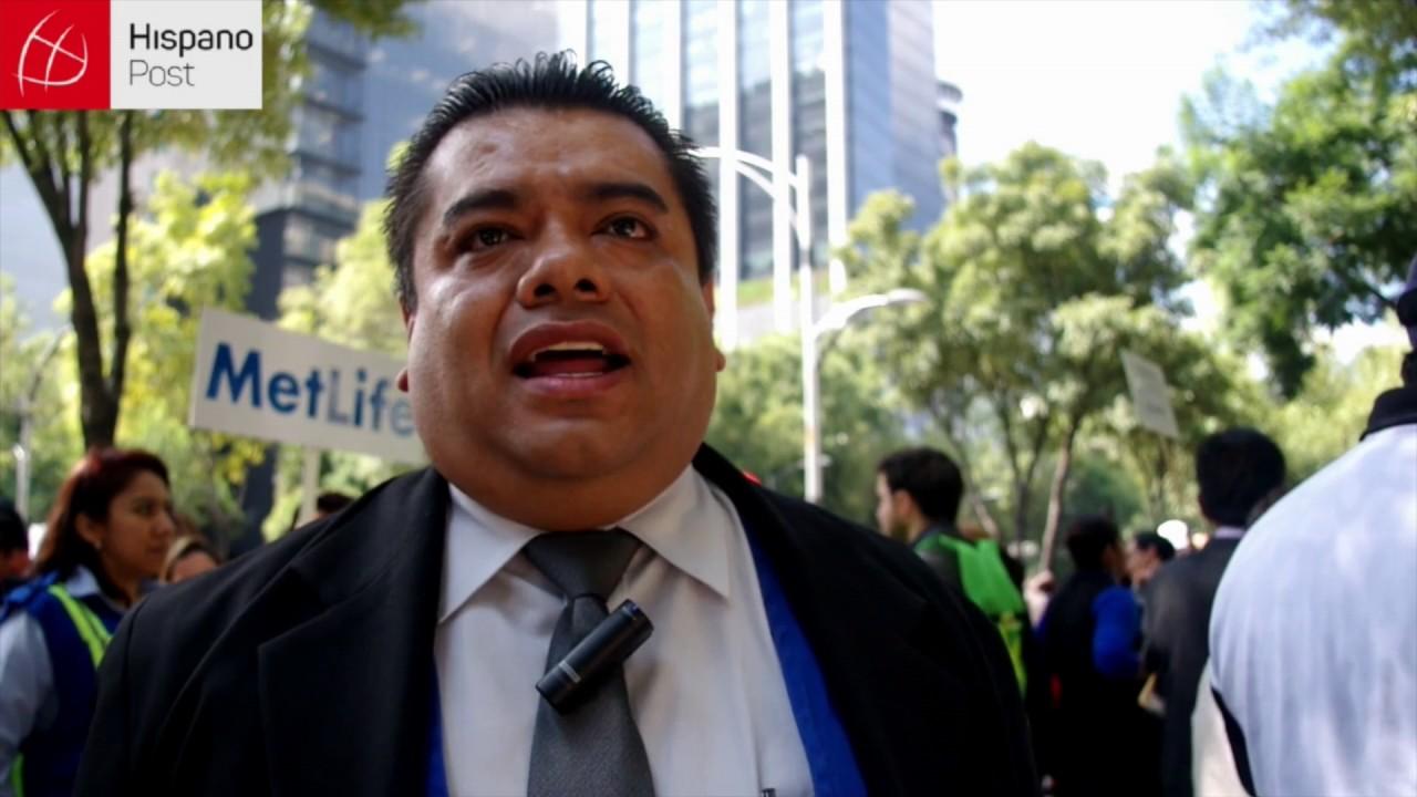 Mexicanos se preparan en un megasimulacro