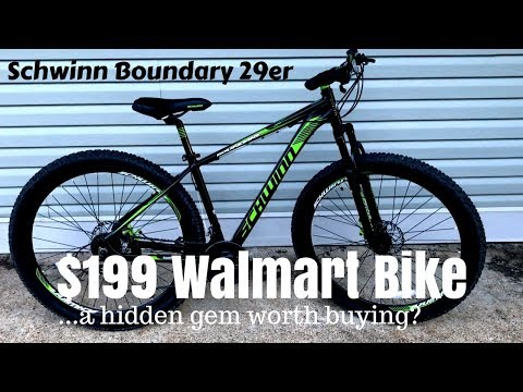$199 Walmart Schwinn Boundary 29er – A cheap mountain bike that works?