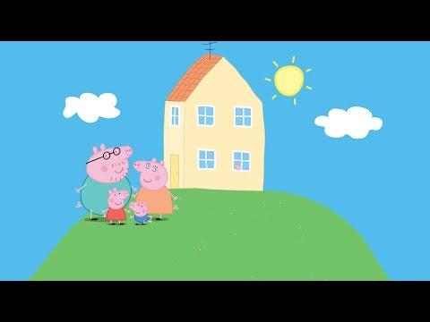 Peppa Pig Famiglia Dito italiano - Peppa Pig Nel Circo Bambini Musica