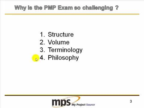 Why is the PMP Exam so Difficult and what you can do about it V2 ...