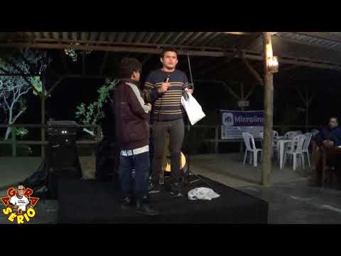 Stand up Comedians no Rio Abaixo foi assim muita gargalhadas com Emerson Ceará