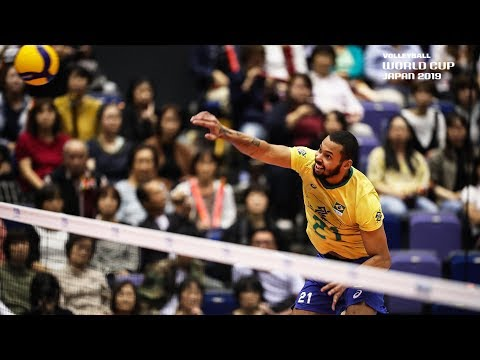 Alan Souza is hungry for 27 Points vs. Poland!    Men's Volleyball World Cup 2019