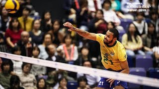 Alan Souza is hungry for 27 Points vs. Poland!  | Men's Volleyball World Cup 2019