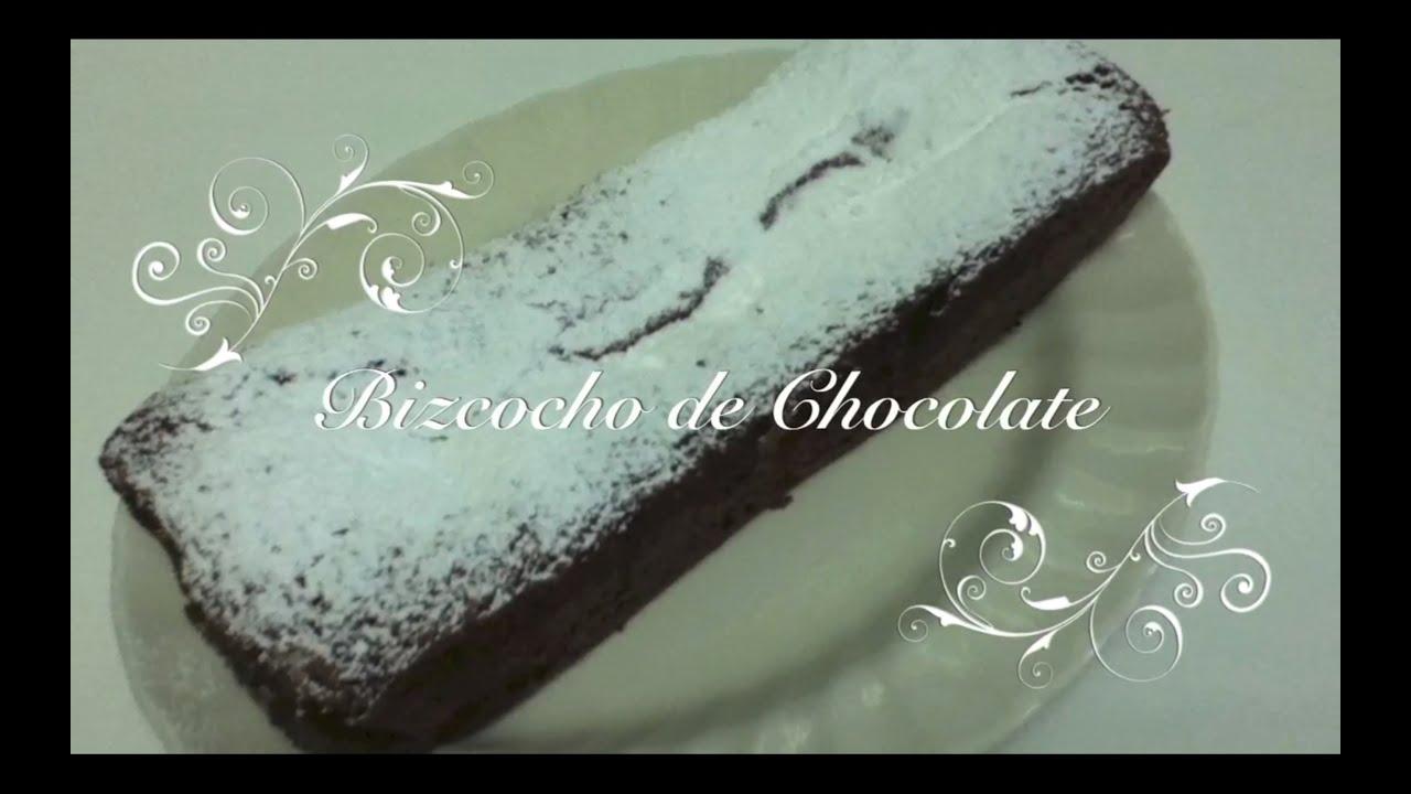 Bizcocho de Chocolate Casero Facil | Bizcocho de Chocolate Economico | Bizcocho Casero Economico