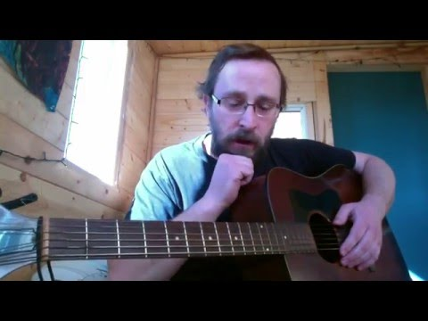 Left-handed upside-down guitar academy Lesson 1: open chords in G major
