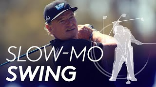 Ernie Els Golf Swing In Slow Motion