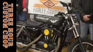 Fast and Loud Rat Bike Shop Chop at GHD #rollyourown
