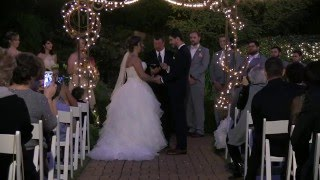 Wedding At Little Gardens - Aline + Mihai - The Ceremony - Squid Wed Films