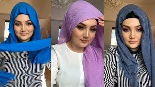 Turkish Hijab For Eid - Part 2 - لفات حجاب تركية للعيد