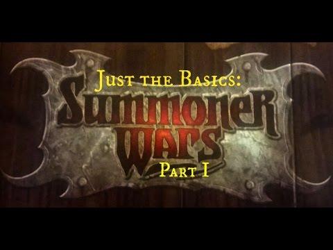 Just the Basics: Summoner Wars - Part 1