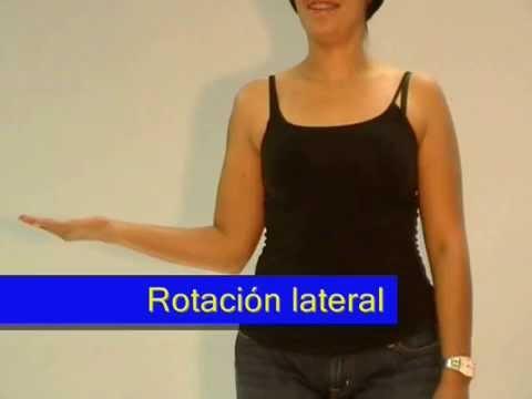 Tratamiento de la terapia de ejercicio articulación del hombro