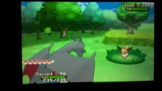 Leafeon  - (Pokémon) - How to chain a Shiny Eevee in Pokemon X and Y (OLD VERSION)