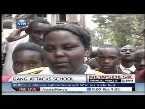 man shot dead while eight students injured in clash between