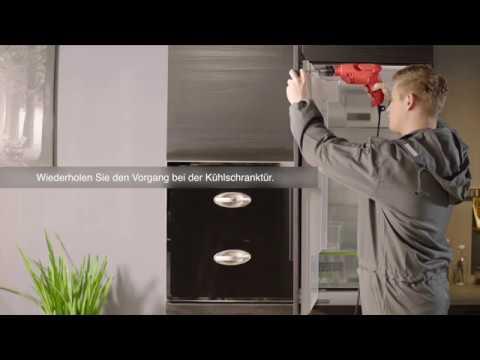 Midea KGI 5.1 Einbau Kühl-/Gefrierkombination, Einbau Kühl-/Gefriergerät, Installationsanleitung
