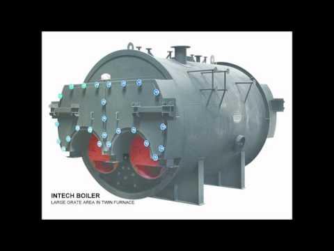 Coal & Wood Fired 0.3-4 TPH Internal Furnace Packaged Boiler