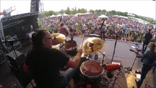 "AARON PRITCHETT DRUM CAM - ""LIGHT IT UP"" and  ""NEW FRONTIER"""