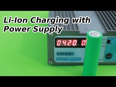 How to Charge Lithium Ion Batteries with a Power Supply