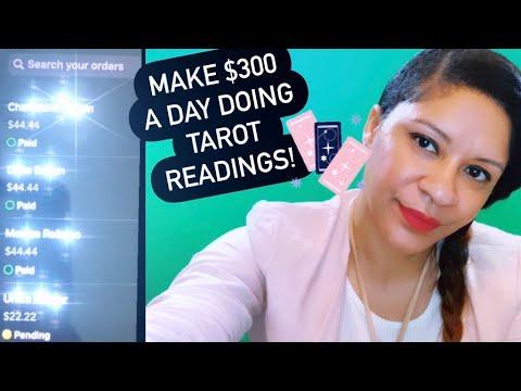 Make $300 a day! Doing Tarot Readings online! Learn Tarot make quick fast money!