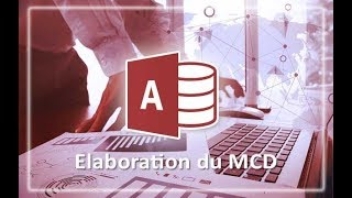 Coursaline.com: Application MS Access#Elaboration du MCD-02