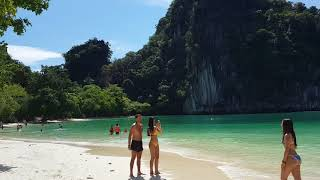 preview picture of video 'Koh Hong Island  Krabi / 喀比 洪島'