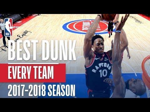 Best Dunks of the 2018 NBA Regular Season~Mix