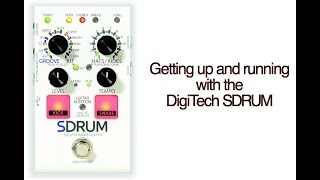 Digitech SDRUM Video