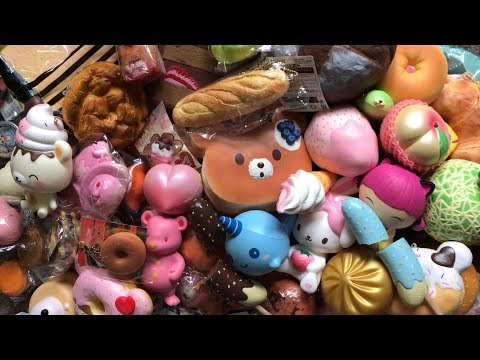 SQUISHY COLLECTION 2017 PART 1