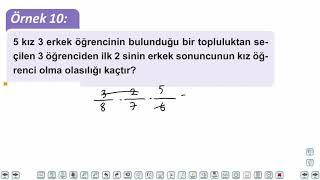 Eğitim Vadisi TYT Matematik 34.Föy ve 35.Föy Olasılık Konu Anlatım Videoları