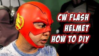 Flash CW How to foam helmet Cosplay Costume