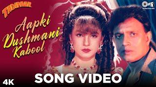 Aapki Dushmani Kabool Song Video - Tadipaar | Kumar Sanu | Mithun C, Pooja B | 90's Evergreen Songs