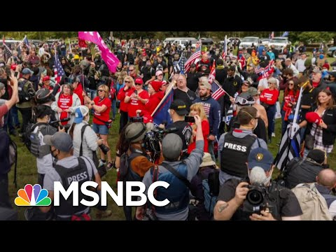ADL CEO: Proud Boys Don't Below In The Political Conversation | The 11th Hour | MSNBC