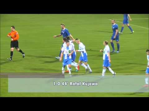 Skrót meczu Stomil Olsztyn - MKS Kluczbork 1:0