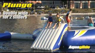 Aquaglide Plunge Double-wide Slide