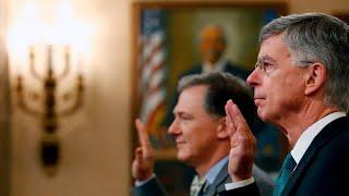 Trump impeachment listening to: first public testimony begins - live updates