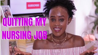 WHY I QUIT MY FIRST NURSING JOB IN THE UK 🇬🇧 || @Nicywangui