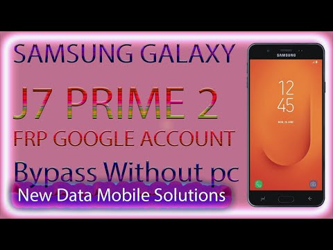 Samsung J7 prime 2 G611f Frp Bypass Without Box Dongle