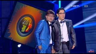 NET 2 0 Presents Indonesian Choice Awards 2015 - Male Singer Of The Year