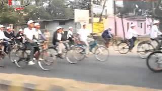 preview picture of video 'inext Bikeathon 2013 rocks Meerut'
